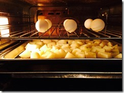 Wolf Steam Convetion Oven - Steamed Potatoes
